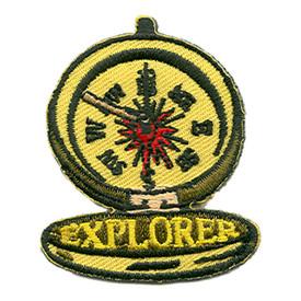 S-0087 Explorer- Compass Patch