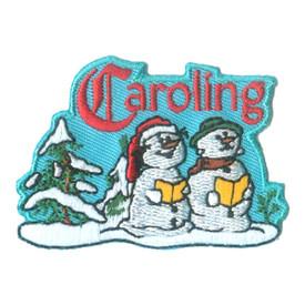 S-2487 Caroling (Snow People) Patch