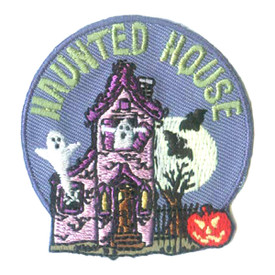 S-2488 Haunted House Patch