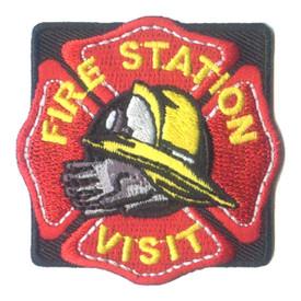 S-2494 Fire Station Visit Patch