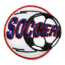 S-0088 Soccer Patch