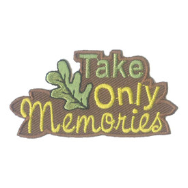 S-2501 Take Only Memories Patch