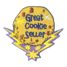 S-2512 Great Cookie Seller Patch
