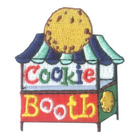 S-2515 Cookie Booth Patch