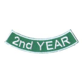 S-2517 2nd Year Rocker Patch