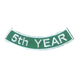 S-2520 5th Year Rocker Patch