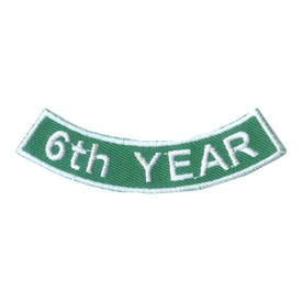 S-2521 6th Year Rocker Patch
