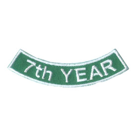 S-2522 7th Year Rocker Patch