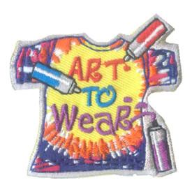 S-2524 Art To Wear Patch