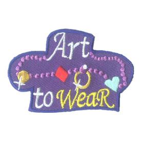 S-2526 Art To Wear (Jewelry) Patch