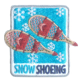 S-2537 Snow Shoeing Patch