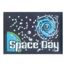 S-2538 Space Day Patch