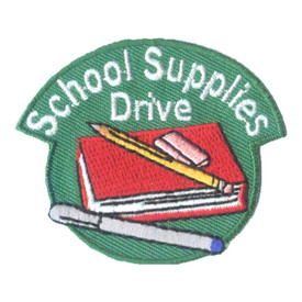 S-2540 School Supplies Drive Patch