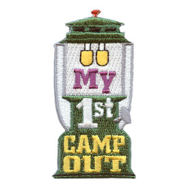 S-2547 My 1st Camp Out Patch