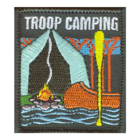 S-2549 Troop Camping Patch