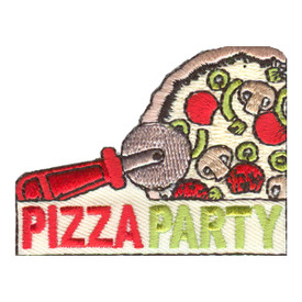 S-2550 Pizza Party Patch