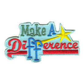 S-2554 Make A Difference Patch