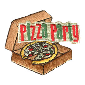 S-2555 Pizza Party Patch