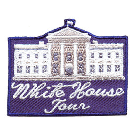 S-2556 White House Tour Patch
