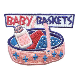 S-2558 Baby Baskets Patch