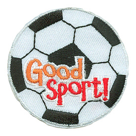 S-2563 Good Sport (Soccer Ball) Patch