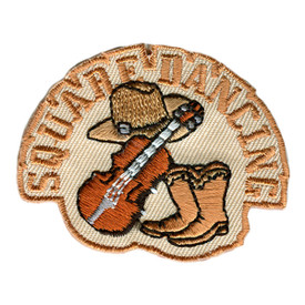 S-2577 Square Dancing Patch