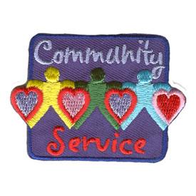 S-2578 Community Service Patch