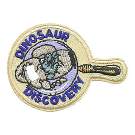 S-0101 Dinosaur Discovery Patch