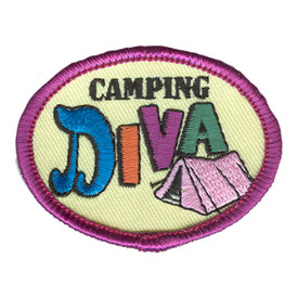 S-2585 Camping Diva Patch