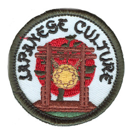S-2590 Japanese Culture Patch