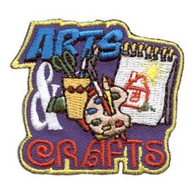 S-2593 Arts & Crafts Patch