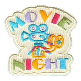 S-2597 Movie Night Patch