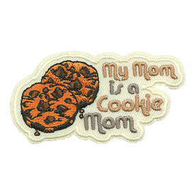 S-2598 My Mom Is A Cookie Mom Patch