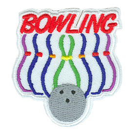 S-2599 Bowling (Pins) Patch