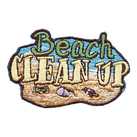 S-2600 Beach Clean Up Patch