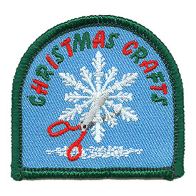 S-2611 Christmas Crafts Patch