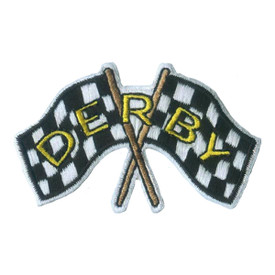 S-2614 Derby (Flags) Patch
