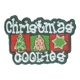 S-2620 Christmas Cookies Patch