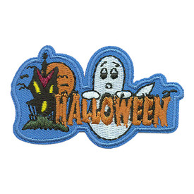 S-0104 Halloween (Glow Ghost) Patch