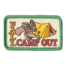 S-2624 Fall Camp Out Squirrel Patch