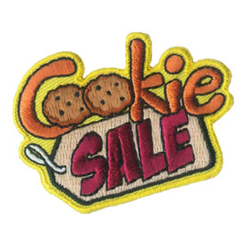 S-2627 Cookie Sale Patch