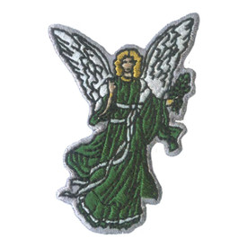 S-2628 Green Angel Patch