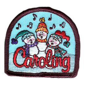 S-2629 Caroling (Snow People) Patch