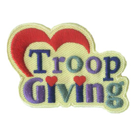 S-2631 Troop Giving Patch
