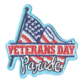 S-2633 Veterans Day Parade Patch