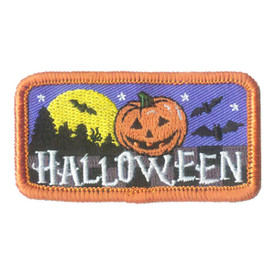 S-2636 Halloween Patch