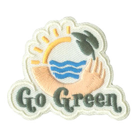 S-2640 Go Green Patch