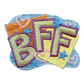 S-2657 BFF (Stars & Hearts) Patch