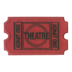 S-0119 Theatre- Ticket Patch