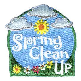 S-2672 Spring Clean Up (Clouds) Patch